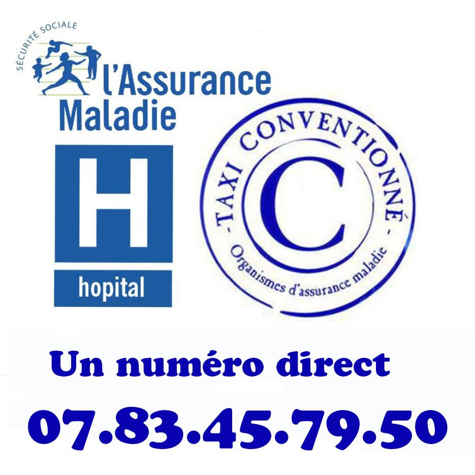 Taxi Conventionn 07 83 45 79 50 Toute Destination 94 77 91